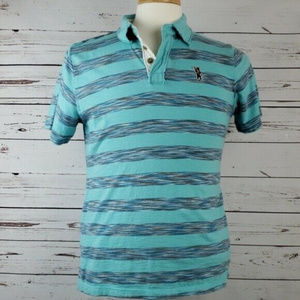 Original Lucky Brand CA Surfer Bear Polo Size L